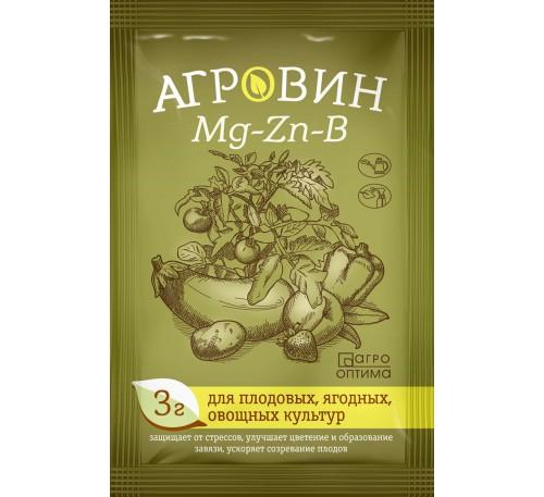 Агровин Mg-Zn-B (магний+цинк+бор) д/плодовых,ягодных и овощных 3гр.