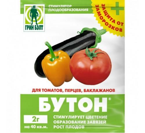 Бутон+ 2гр для томатов, перцев Грин Бэлт