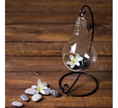 Флорариум подвесной на подставке