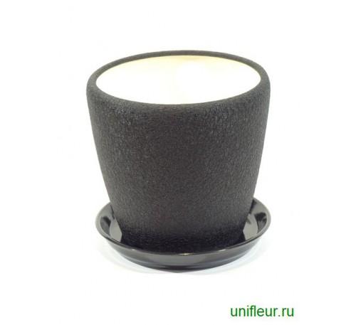 Грация набор шелк черный 4