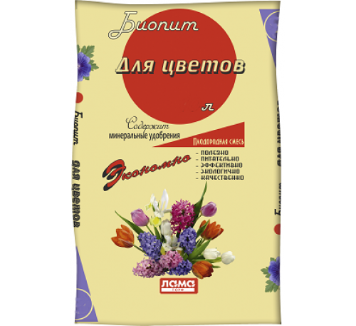 Грунт Биопит Цветы 10л.
