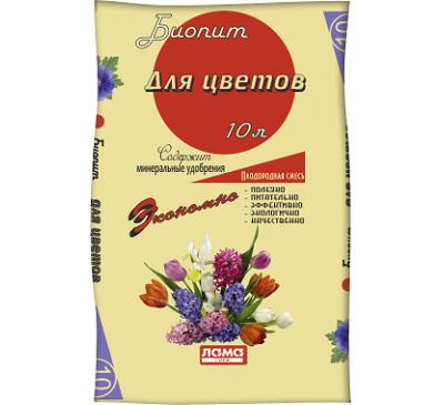 Грунт Биопит Цветы 42л.