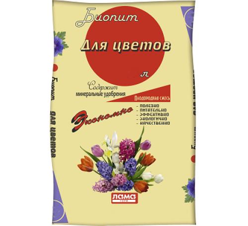 Грунт Биопит Цветы 60л.