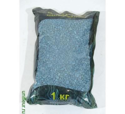 Камень GRAVEL064 цветн. кр. 2-4 мм 1кг Голубой