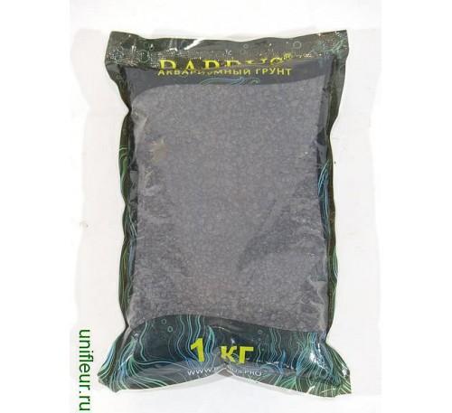 Камень GRAVEL066 цветн. кр. 2-4 мм 1кг Черный премиум