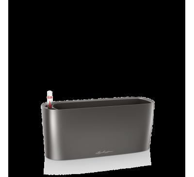 Кашпо Дельта 10 Антрацит с системой полива