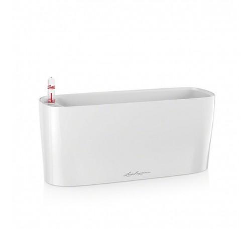 Кашпо Дельта 10 Белое с системой полива
