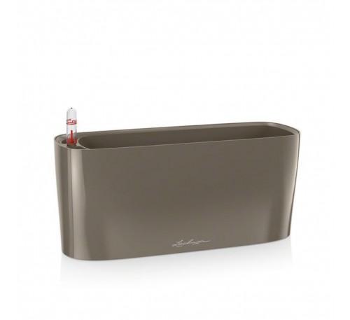 Кашпо Дельта 10 Серо-коричневое с системой полива