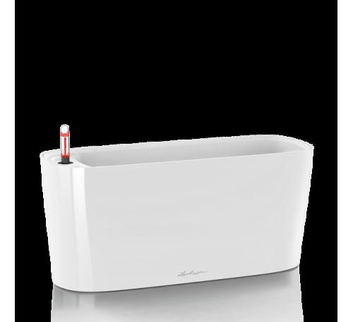 Кашпо Дельта 20 Белое с системой полива