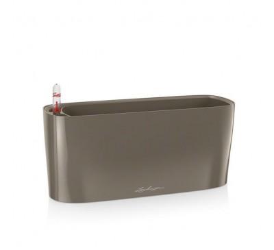 Кашпо Дельта 20 Серо-Коричневое с системой полива