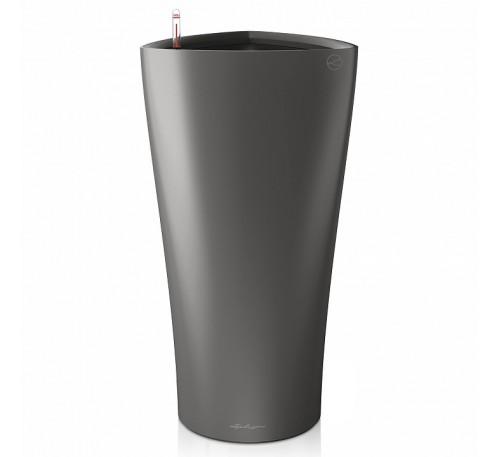 Кашпо Дельта 30 Антрацит с системой полива