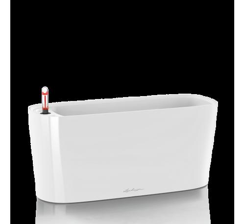 Кашпо Дельта 40 Белое с системой полива