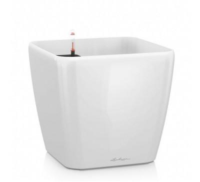 Кашпо Караро 75 Белое с системой полива