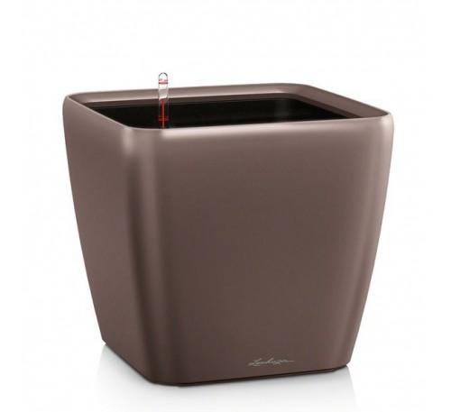 Кашпо Квадро 43 LS Кофе с системой полива и съемным горшком