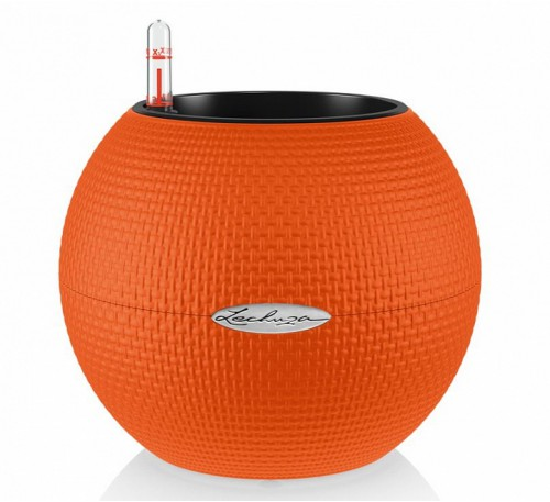 Кашпо Пуро 20 Оранжевый  с системой автополива