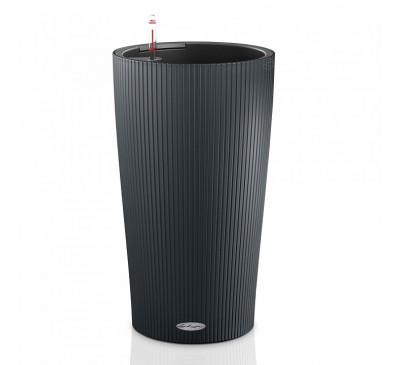 Кашпо Цилиндро Колор 32 серый с системой полива