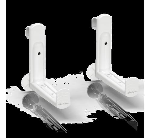 Крепления для кашпо Балконера пластик Белое