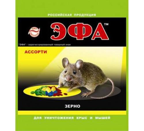 Мыши Эфа зерно 500гр.ассорти