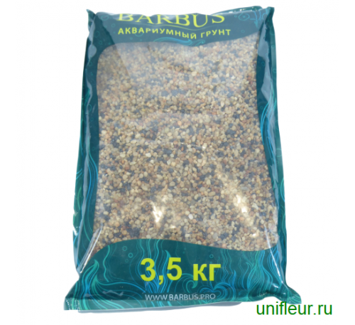 Песок GRAVEL023 кварц 2-4мм 3,5кг Черно-Розовый премиум