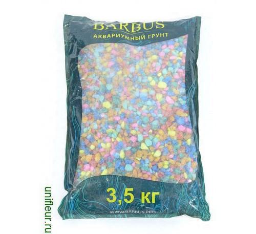 Песок GRAVEL038 кварц 5-10мм 3,5кг Микс