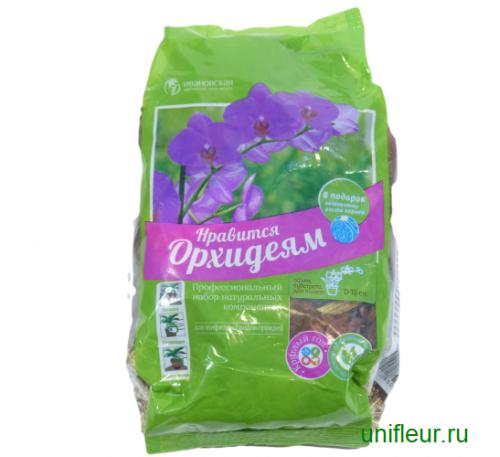 Субстрат Орхидея 2л. набор д/эпифитных орхидей ИЦО