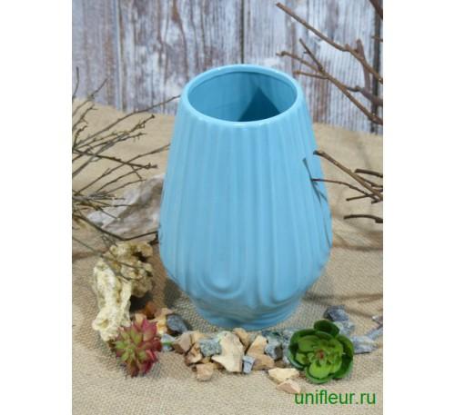 Ваза д/цветов 8*15*20,5 см керамика
