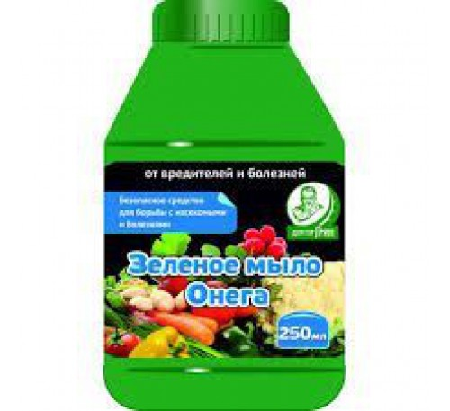 Зеленое мыло Онега 250мл.